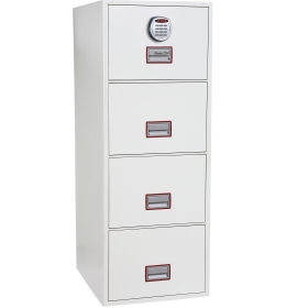 CLS paper and data filing cabinets